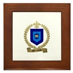 PARENTEAU Family Crest Framed Tile