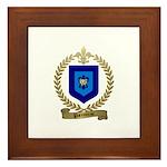 PARENTEAU Family Crest Framed Tile