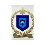 PARENTEAU Family Crest Rectangle Magnet (100 pack)