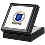 PARENTEAU Family Crest Keepsake Box