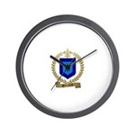 PARENTEAU Family Crest Wall Clock