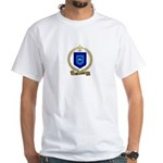 PARENTEAU Family Crest White T-Shirt