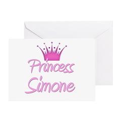 Princess Simone Greeting Card