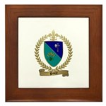PAUZE Family Crest Framed Tile