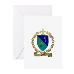PAUZE Family Crest Greeting Cards (Pk of 10)