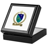 PAUZE Family Crest Keepsake Box