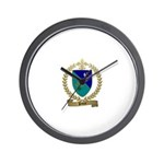 PAUZE Family Crest Wall Clock