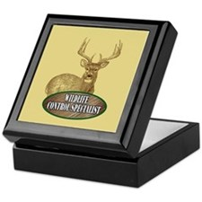 Wildlife Control Specialist Keepsake Box