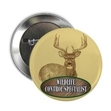 "Wildlife Control Specialist 2.25"" Button (10 pack)"