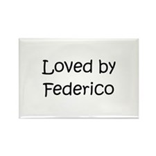 Cute Federico Rectangle Magnet