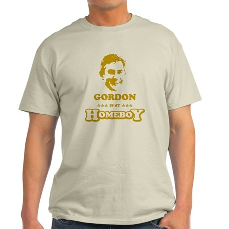 GORDON BROWN IS MY HOMEBOY Light T-Shirt