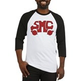 Red SMC Van Logo Baseball Jersey