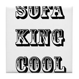 Sofa King Cool Tile Coaster
