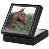 Saddlebred Horse Keepsake Box