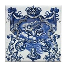 Blue & White Royale Tile Coaster