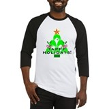 Tappy Holidays Christmas Tree Baseball Jersey