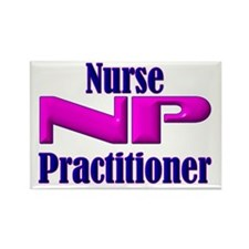 NP Nurse Practitioner Rectangle Magnet (100 pack)