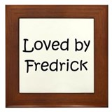 Cute Fredrick Framed Tile