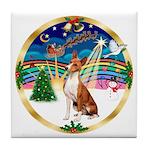 XmasMusic 3/Basenji Tile Coaster