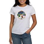 XmasMusic 3/Basenji Women's T-Shirt