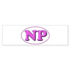 Pink on Pink Bumper Sticker (10 pk)