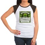 BLUNTWISER Women's Cap Sleeve T-Shirt