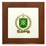 PERRON Family Crest Framed Tile