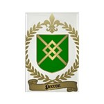 PERRON Family Crest Rectangle Magnet