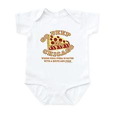 Deep Dish Pizza Infant Bodysuit