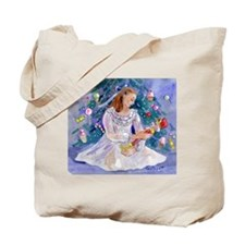 Clara and the Nutcracker Christmas Tote Bag