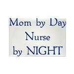 Mom by Day Rectangle Magnet (10 pack)