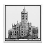 Wapello County Courthouse Tile Coaster