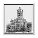 Wapello County Courthouse Tile Coaster