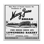 Mary Jane Bread Tile Coaster