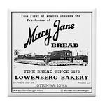 Mary Jane Bread Tile Coaster