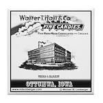 Hall Candy Company Tile Coaster