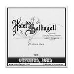 Hotel Ballingall Tile Coaster