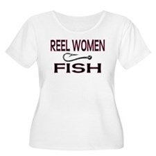 Reel Women Fish T-Shirt
