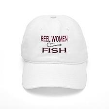 Reel Women Fish Baseball Cap