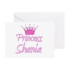 Princess Shania Greeting Card