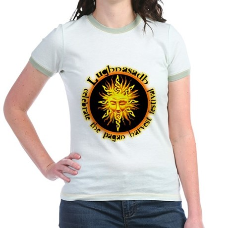 Celtic - Lughnasadh Jr. Ringer T-Shirt