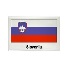 Slovenia Slovenian Flag Rectangle Magnet