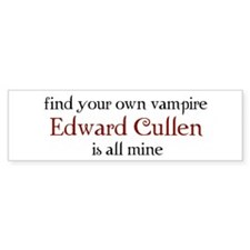 Find your own vampire Bumper Bumper Sticker