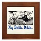 HEY DIDDLE, DIDDLE Framed Tile