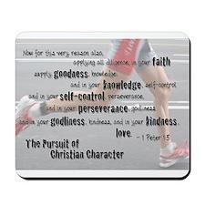 Christian Character Mousepad