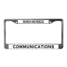 SAR Comm License Plate Frame