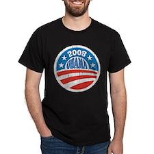 Vinatge Obama 2008 Logo T-Shirt