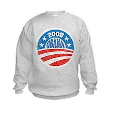 Vinatge Obama 2008 Logo Sweatshirt