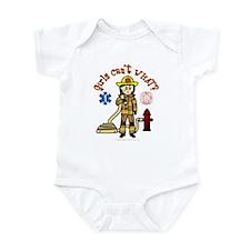 Custom Firefighter Infant Bodysuit