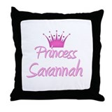 Princess Savannah Throw Pillow